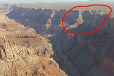 Ancient Egptian Underground City in The Grand Canyon, Arizona
