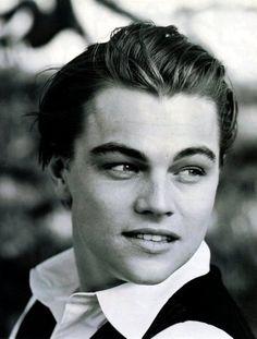 Young Leonardo Dicaprio<3