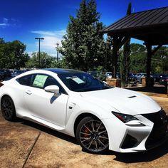 From raceway to driveway. The #LexusRCF. #lexusrc #lexusdominion #lexus #nplexusdominion #salexus #goldenopportunity #newlexus #lexuslove #oneletter #lexuslife