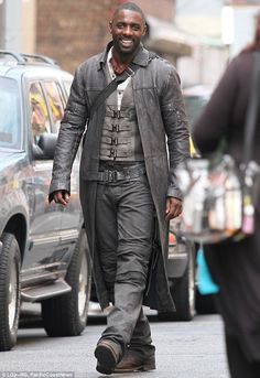 Get the stylish Idris Elba Trench Coat worn in the upcoming movie The Dark Tower and play the Roland Deschain character. Place you order now and get the Stylish Trench Coat from our online store Omu at discounted price.