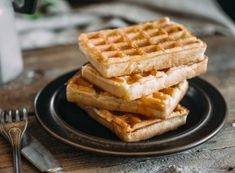 Recette My Recipes, Gourmet Recipes, Dessert Recipes, Fes, Crepes And Waffles, Pancakes, Sweet Bakery, Biscuits, Food And Drink
