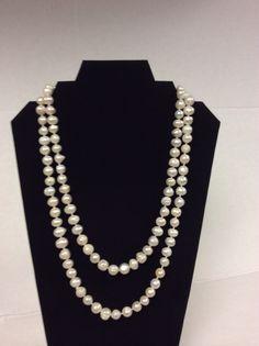 Collar de perlas cultivadas...