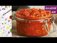 How to make canned sauce for breakfas Turkish Recipes, Ethnic Recipes, Romanian Food, Soup, Make It Yourself, How To Make, Youtube, Recipies, Soups