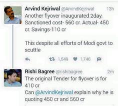 Another lie of kejriwal exposed #dhongiaap #aap #aamaadmiparty #delhi #arvindkejriwal