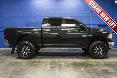 2016 Dodge Ram 1500 SLT 4x4 HEMI Truck with BRAND NEW LIFT KIT For Sale at Northwest Motorsport! #nwmsrocks #dodgetrucks #liftedtrucks #hemi