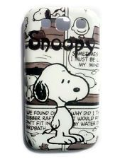 Snoopy The Dog Cartoon Hard Shell Back Case Cover For Samsung Galaxy S3 i9300