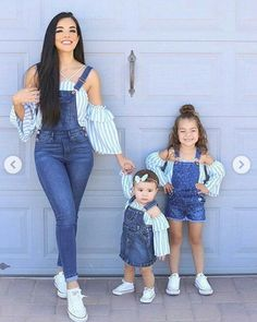 Mommy /& Me Matching outfits Mother and Daughter bib overall weddingpicture day daytime dress size does not matter