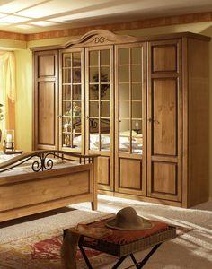 Schlafzimmermöbel, Möbel, Massivholzmöbel, Schlafzimmer Weiss, Kleiderschrank Massiv | XXONE MÖBEL
