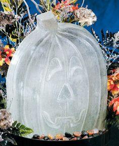 Sculpture: Reusable Pumpkin Ice Sculpture Mold - The Zedign House - Store