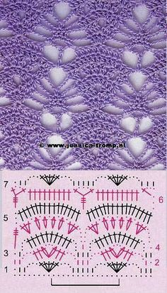 Ideas Crochet Blusas Patrones Ganchillo For 2019 Poncho Crochet, Crochet Lace Edging, Crochet Motifs, Love Crochet, Crochet Baby, Crochet Stitches Chart, Crochet Diagram, Stitch Patterns, Knitting Patterns
