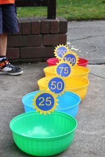 bucket toss game