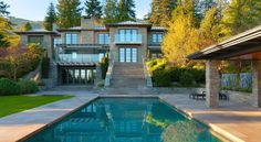 19 Best Greater Vancouver Luxury Homes Images Luxury Houses - World-class-canterbury-estate-with-oceanviews