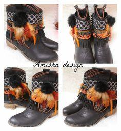 "Bloguera De ""Saldo"": Nuevos decora botas Amisha design."