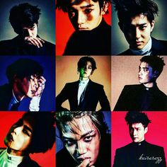 My endearing Monsters ❤  Edited with Credit photo to owners.  #EXO #Suho #Xiumin #Lay #Baekhyun #Chen #Chanyeol #D.O #Kai #Sehun