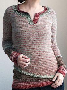 Langarm Wollgemischer Pullover mit Rundhals - modetalente