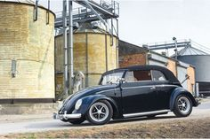 """Stephan Bettzüge - """"The first lady - Cabriolet Beetle"""" - Rumour has it that Stephan 'Präsi' Bettzüge never really wanted a cabriolet and certainly not one painted black. Yet when this one came up on his radar, he just had to have it..."""