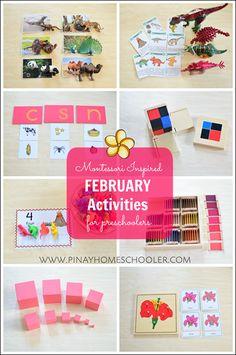 Montessori Inspired Activities for 39 Months Preschoolers