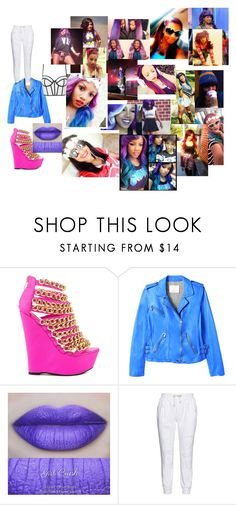 """BTS w/ Breaunna(babdoll)from omg girlz"" by sandersdaisha on Polyvore featuring Nelly Bernal, Rebecca Taylor, 17 Sundays and Topshop"
