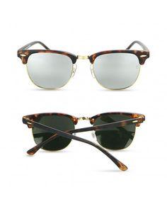 98442d42d7 Classic Clubmaster Retro Wayfarer Women Sunglasses Men Luxury Brand Designer  - Leopard - CW184AEZGN6