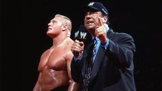 When Stephanie McMahon and Mick Foley drafted Brock Lesnar for WWE Monday Night Raw at the WWE Draft, they didn't say anything about Paul Heyman. Vickie Guerrero, Jimmy Hart, Bruno Sammartino, Michael Hayes, Bobby Heenan, Paul Bearer, Paul Heyman, The Road Warriors