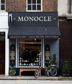 Monocle storefront