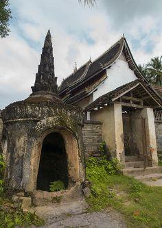 Temple In Galamba, Xishuangbanna, Yunnan, China