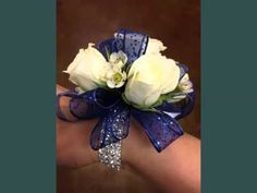 Wrist Corsage For Navy Blue Dress Picture Collection For Navy Blue ...