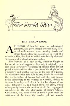feminism in the scarlet letter essay