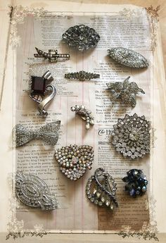 Old brooches