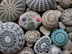 covered sea stones
