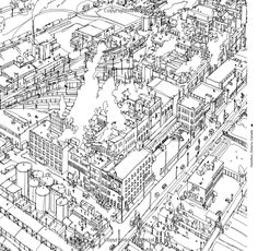 Gallery Of Fantastic Cities A Coloring Book Real And Imagined From Around The World