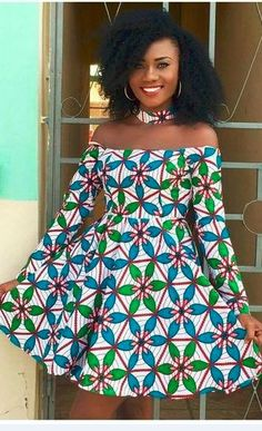 The complete pictures of latest ankara short gown styles of 2018 you've been searching for. These short ankara gown styles of 2018 are beautiful Short African Dresses, Ankara Short Gown Styles, Short Gowns, Ankara Gowns, African Print Dresses, Nigerian Ankara Styles, African Prints, African Fabric, Trendy Ankara Styles