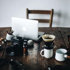 Pentax 6x7 and coffee