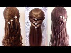 Peinados Para Niñas 2017/Peinados para cabello/Peinados Faciles bonitos/Trenzas Faciles(103 - YouTube
