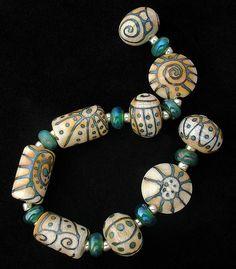 DSG Beads Handmade Organic Lampwork Glass-Made To Order.