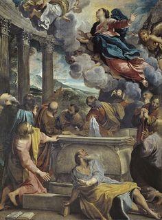 Annibale Carracci Assumption of the Virgin- L'Assunzione della Vergine è un dipinto di Annibale Carracci custodito nel Museo del Prado. Si tratta di una delle diverse prove dedicate dal pittore al tema