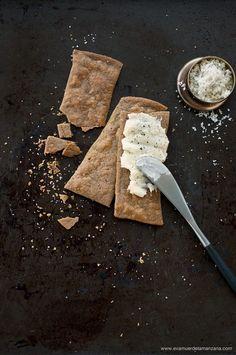 Crackers paleo, sin gluten y sin harinas