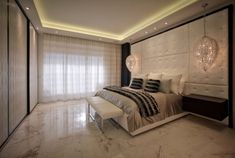 Simple Luxury Modern kind of Bedroom | Inspire yourself in http://www.bocadolobo.com/en/inspiration-and-ideas/