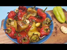 Secretele mele pentru cea mai gustoasa Salata de ardei copti. - YouTube Romanian Food, Romanian Recipes, Ratatouille, I Foods, Salad Recipes, Food To Make, Vegetarian Recipes, Salads, Appetizers
