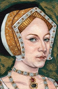Jane Seymour (c. 1508 – 24 October 1537) was Queen of England from 1536 to 1537 as the third wife of King Henry VIII. She succeeded Anne Boleyn as queen consort ..She died of postnatal complications less than two weeks after the birth of her only child, a son who reigned as Edward VI. She was the only one of Henry's wives to receive a queen's funeral, and his only consort to be buried beside him in St. George's Chapel, Windsor Castle,Jane had a childlike face,& modest persona.