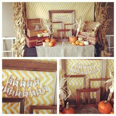 Thanksgiving fall themed party via Kara's Party Ideas - www.KarasPartyIdeas.com