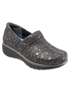 "Looking for Grey's Anatomy™ by SoftWalk Women's ""Meredith"" Black Metallic  Rose Embossed Shoe ? Find Grey's Anatomy™ by SoftWalk Women's ""Meredith""  Black ..."