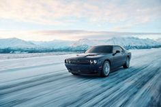 The 2017 Dodge Challenger GT gets all-wheel drive in a move that differentiates the coupe from the Ford Mustang and Chevy Camaro. Dodge Challenger Gt, Dodge Srt, Porsche, Audi, Best Muscle Cars, American Muscle Cars, Best Wallpaper Hd, Wallpapers, Counting Cars