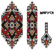 (2) Новости | Схеми бісер (loom beading patterns)