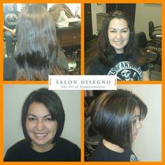 Haircut and highlights by Amanda Chase 770/962-3060