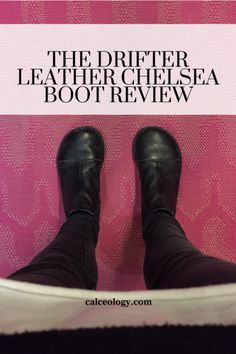 ab3eced7cc4789 the drifter leather - chelsea boots - review - barefoot shoes Barefoot  Boots