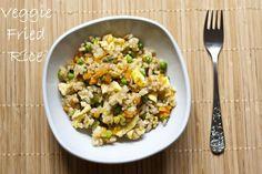Kid-friendly Vegetable Fried Rice   My Little Gourmet