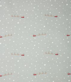 Save 7% on our Grey Starry Night Contemporary Fabric from Sophie Allport; perfect for creating Craft.