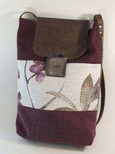 FABIANA: borsetta a tracolla di stoffa fatta a mano
