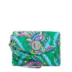 Your Turn Smartphone Wristlet  in Emerald Paisley, $44 I Vera Bradley